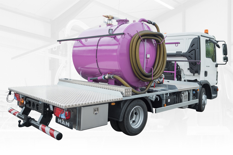 Vacuum Service Unit GLOBAL FXD