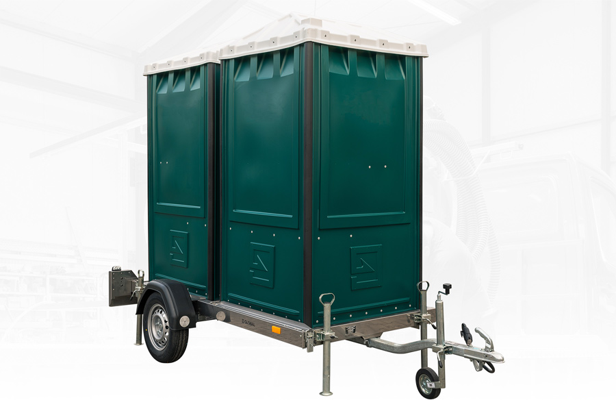 Portable toilet trailer GLOBAL Express