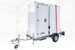 Portable toilet trailer GLOBAL Express Polar